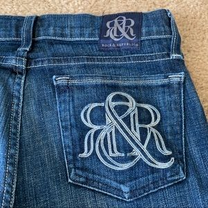 Rock & Republic Jeans - Rock and Republic 'Kasandra' Wide Leg Jeans sz 27